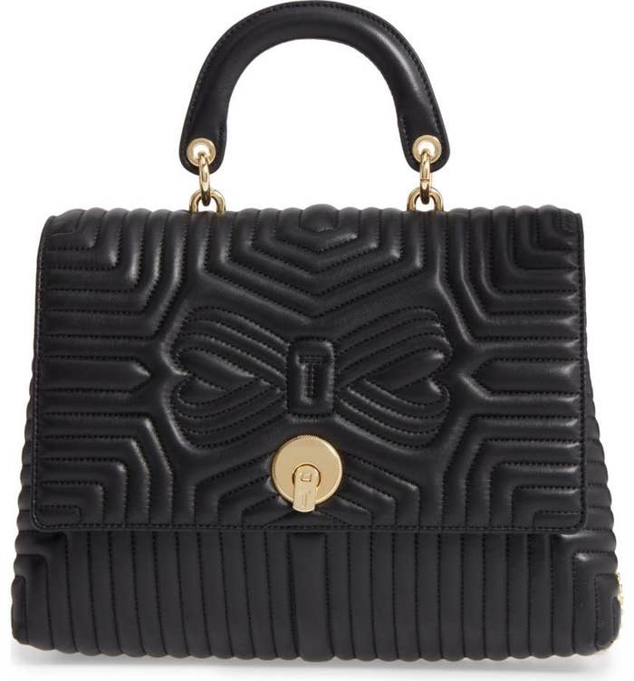 50158c34e 12. This Ted Baker shoulder bag that's quilted to perfection.