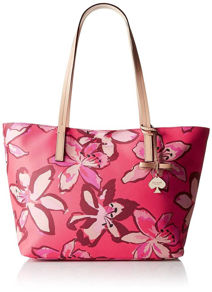13d5150874a3 This Kate Spade New York tote that's almost too pretty to function, but it  does function...in fact, it's a totally functional tote.