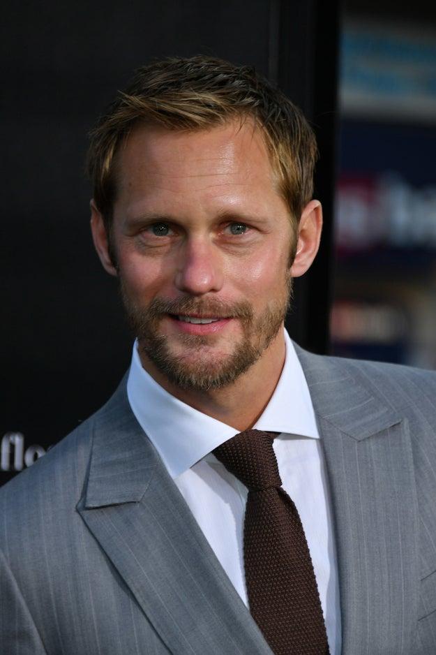 You know Alexander Skarsgård. He's hot. He's tall. He's Swedish. Blah blah blahhhhh.
