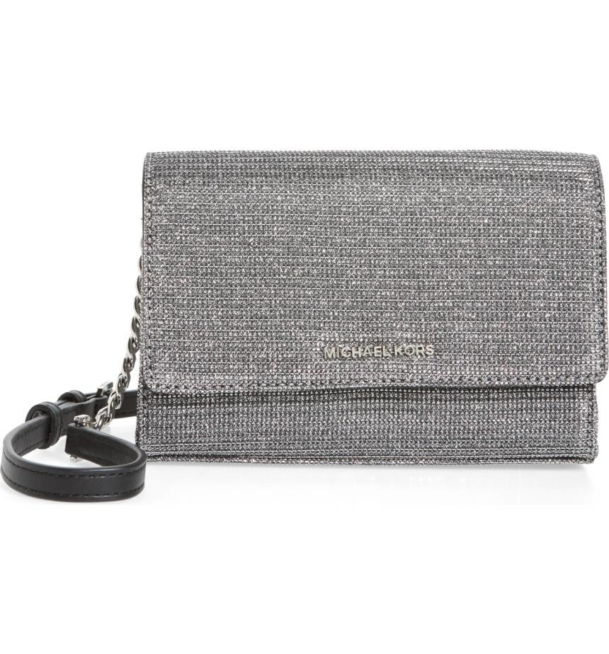 0e1e5d35e2 17. This sparkling Michael Michael Kors convertible leather clutch for your  next night out on the town.