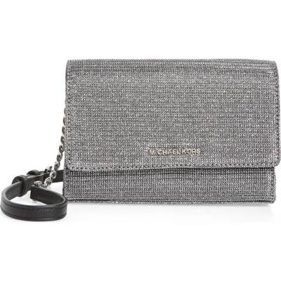 101211af2 This sparkling Michael Michael Kors convertible leather clutch for your  next night out on the town.