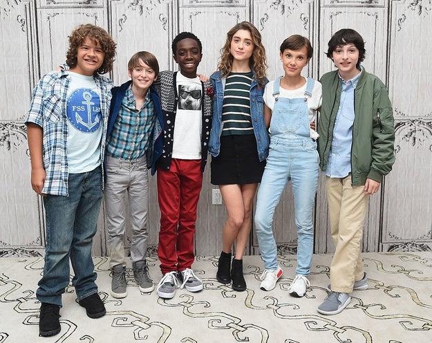 Remember the cast of Stranger Things?