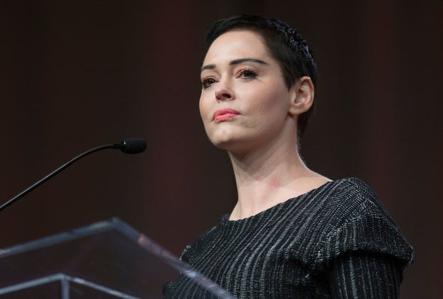 "Rose McGowan spoke publicly on Friday for the first time since the bombshell sexual harassment and assault allegations against Harvey Weinstein emerged, with the actress revealing she has struggled seeing ""the monster's face everywhere."""