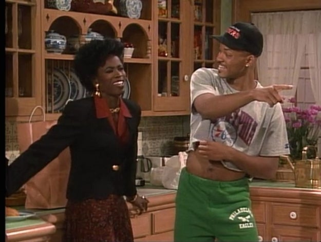 Will Smith in The Fresh Prince of Bel Air: