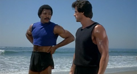 Carl Weathers in Rocky III: