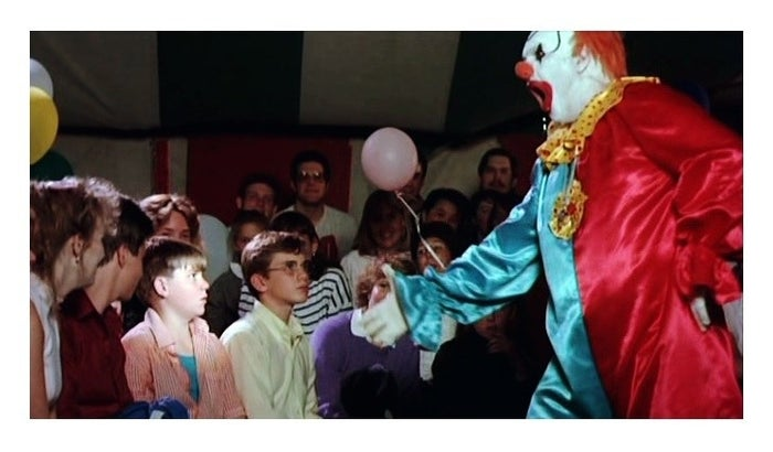 Clownhouse: Nathan Forrest Winters is in the pink shirt.