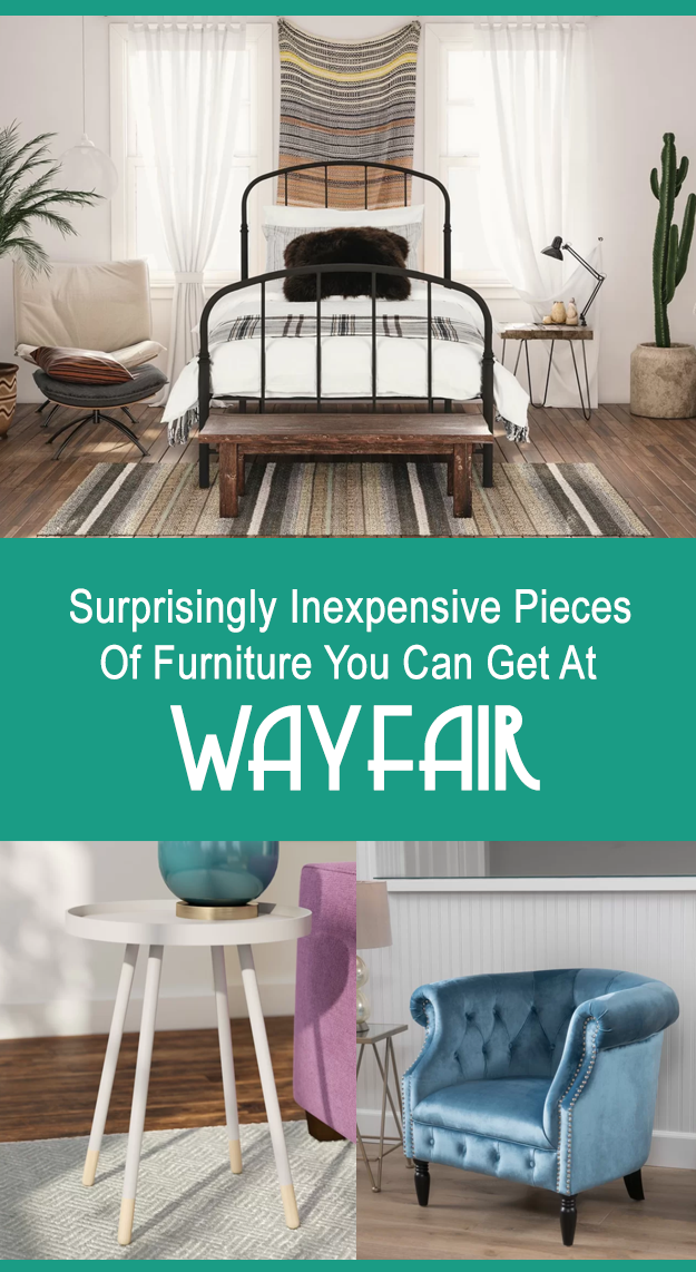 28 pieces of furniture from wayfair that are unbelievably for Where can i get affordable furniture
