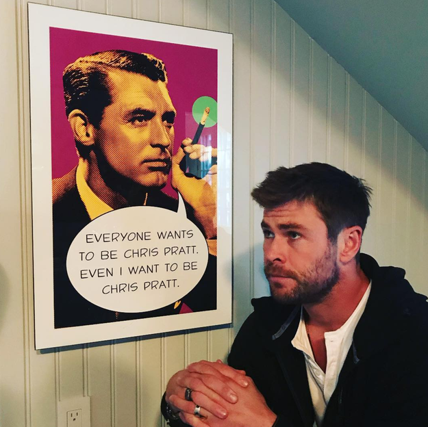 Chris Hemsworth told us how he really feels.