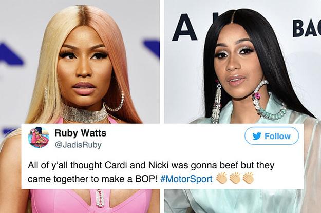 Cardi B Look Alike: TagTeam :: Nicki Minaj And Cardi B Are On The Same Song