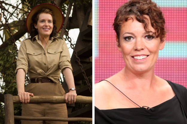 So, Claire Foy, who is on the left, has one more season as the current Queen and Olivia Colman, on the right, will take over from her next year.