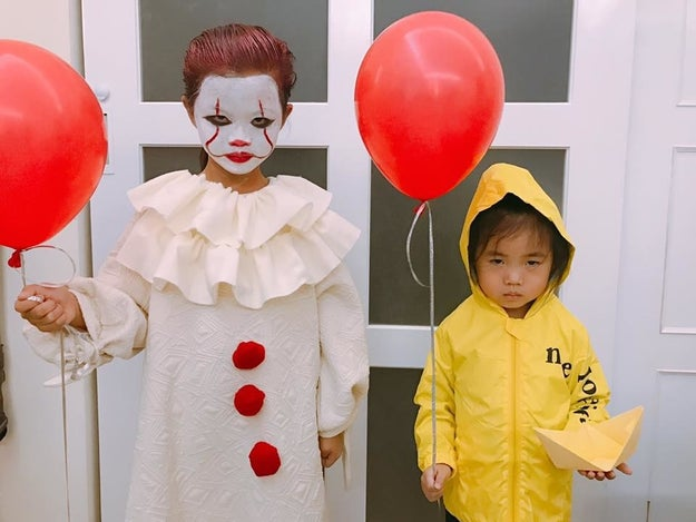 17 kids from taiwan who totally nailed their halloween costumes by