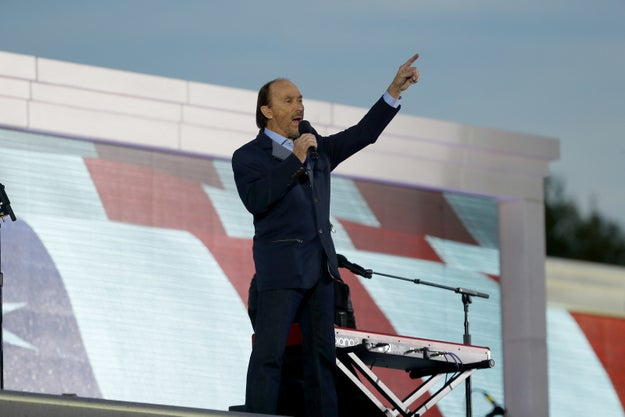 "Lee Greenwood is a country singer best known for his patriotic ditty, ""God Bless the USA."" He performed it at President Trump's inauguration concert this year."