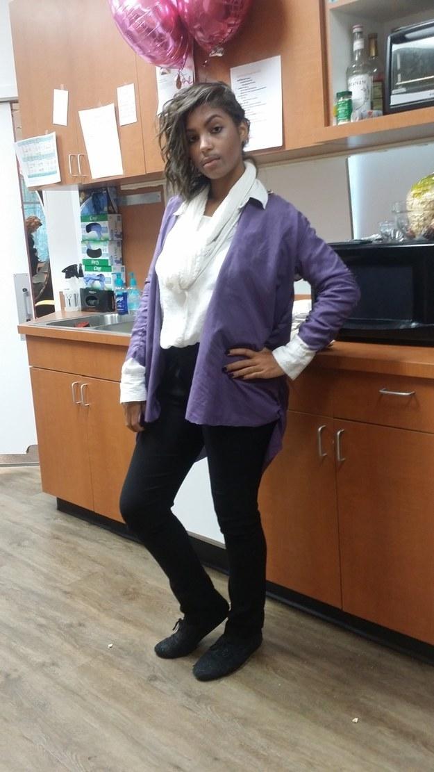 Own a purple jacket? Go as Prince.