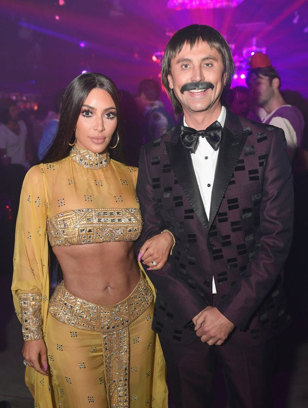 And of course, Jonathan accompanied her as Sonny Bono.