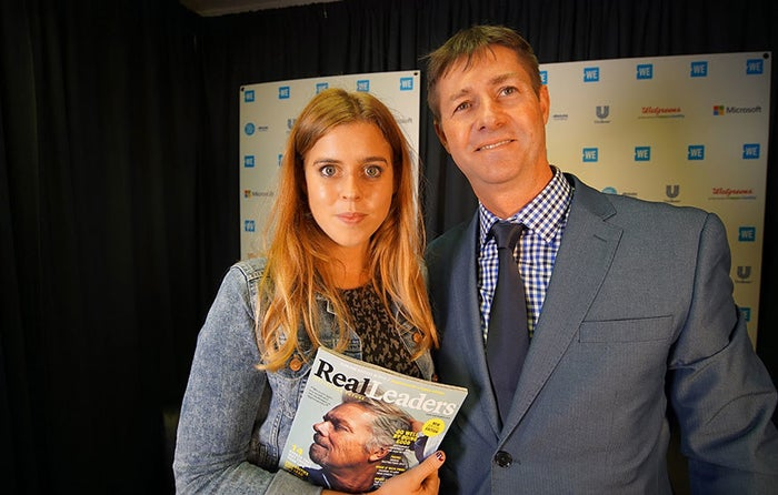 Princess Beatrice of York, Queen Elizabeth's granddaughter, speaks to Grant Schreiber about the social impact work she's been doing since the age of 14.