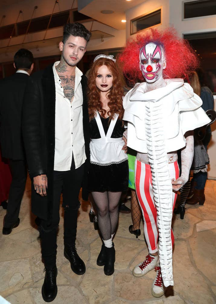 Celebrities totally crushed halloween this year and heres the 21 madelaine petsch went from riverdale to rocky horror solutioingenieria Images