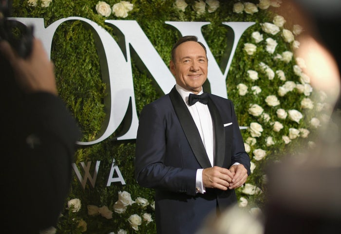 Kevin Spacey attends the Tony Awards at Radio City Music Hall on June 11, 2017, in New York City.