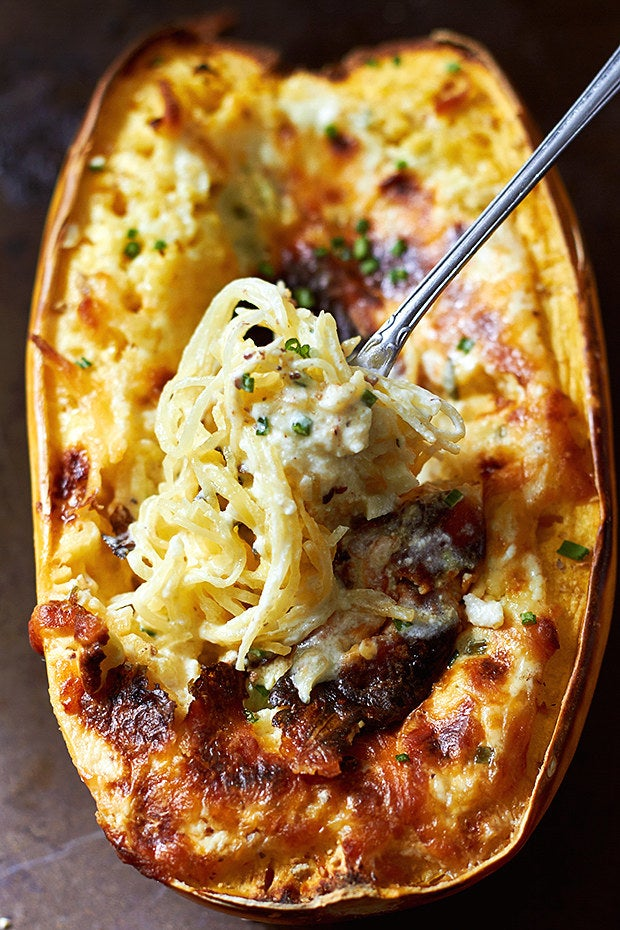 The kids certainly won't complain about eating their veggies when you whip up this cheesy baked squash for dinner. Get the recipe.