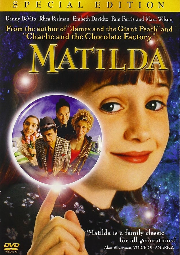 Cozy up on the couch and get inspired by the classic pancake scene in Matilda. Maybe it'll convince you to try it out on your own (the pancake making, not the telekinesis).