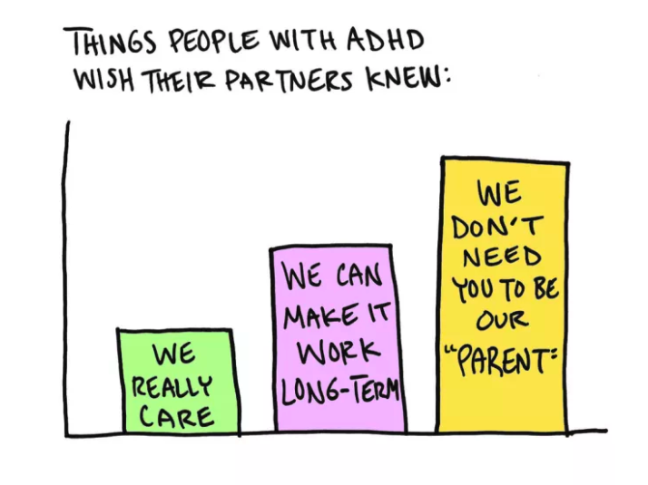 Things you should know about dating someone with adhd