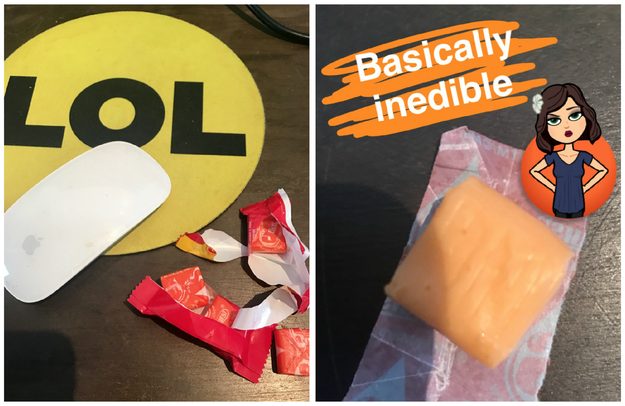 Because orange is clearly the worst Starburst flavor.