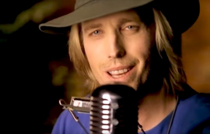 """Tom Petty in the music video for """"You Don't Know How It Feels"""""""