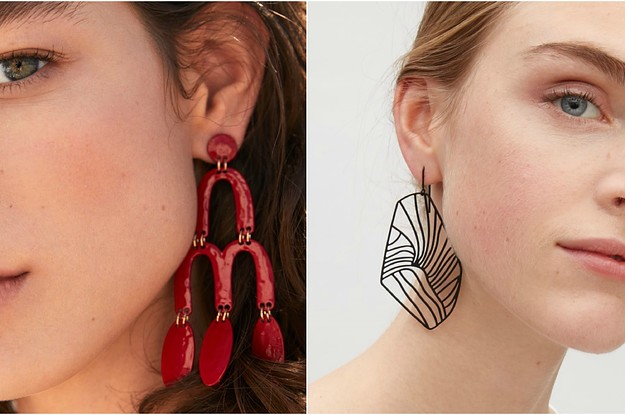 17 Gorgeous Statement Earrings For People Who Are Extra AF
