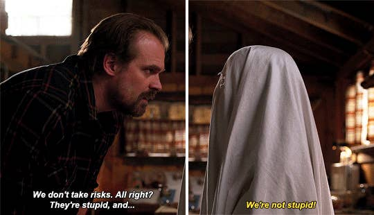 We Need To Talk About Hopper And Eleven In