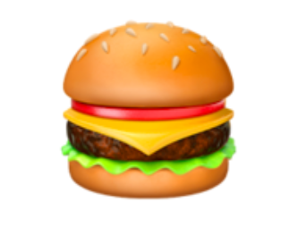 Let's look a little closer. Here's the Apple/iPhone hamburger: