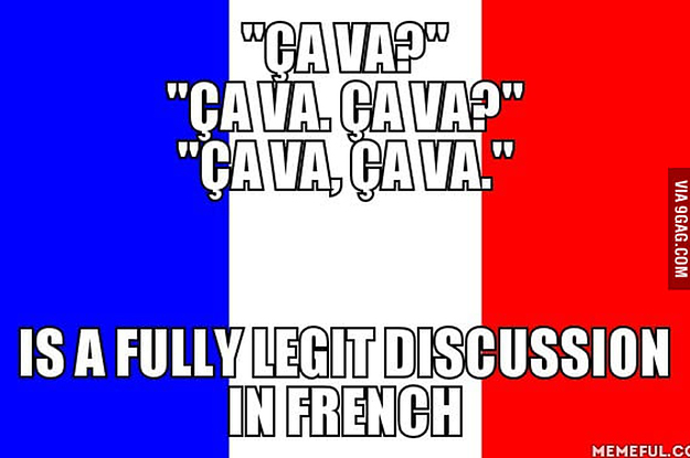 Image result for french memes  to learn french