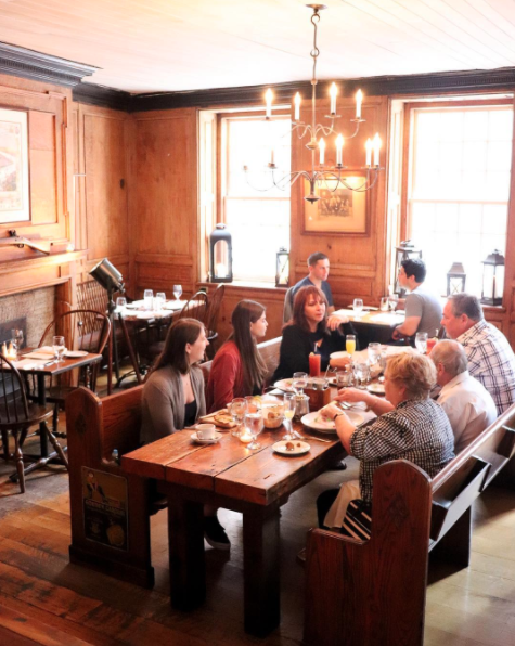 You can still eat at the Fraunces Tavern Museum today (although their historical account differs a little from the dates and details in the cookbook.)