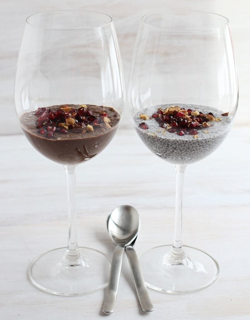 For a less-starchy, but just as tasty, dessert alternative try chia seed pudding.