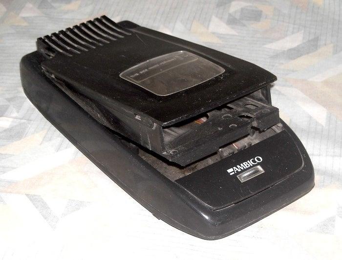 It was also a lot quicker to rewind them in the VHS rewinder.