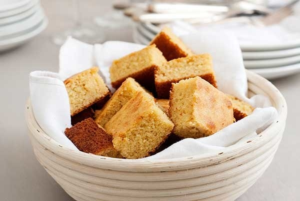 Introduce a bit more corn into your diet by way of delish corn bread.