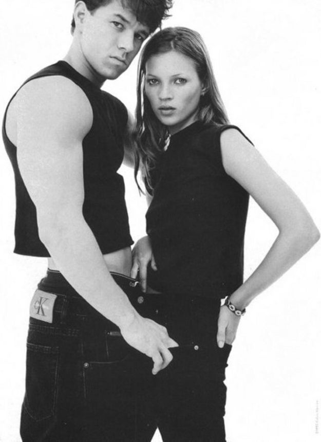 Mark Wahlberg in this Calvin Klein ad: