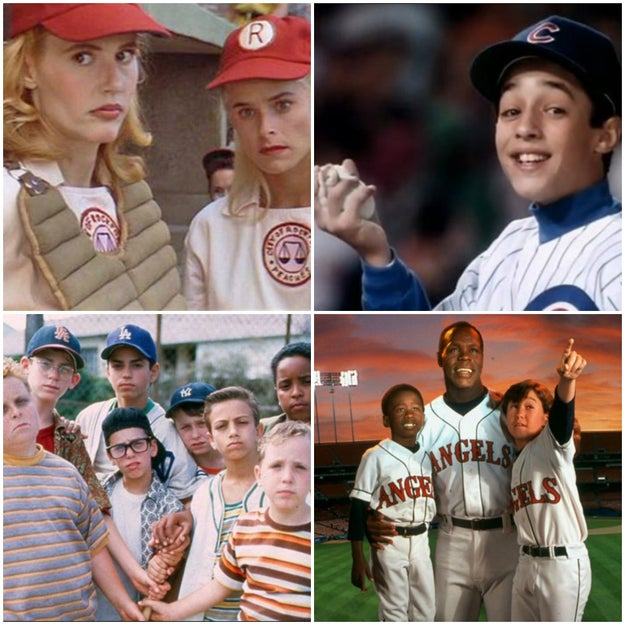 It was the golden age of baseball movies — A League of Their Own, Rookie of the Year, The Sandlot, Angels in the Outfield — the list goes on and on.