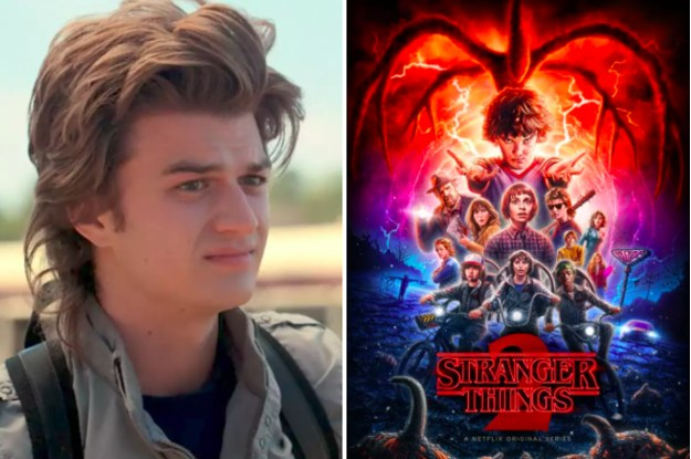 Just 17 Hilarious Reactions To Steve Harrington In The New