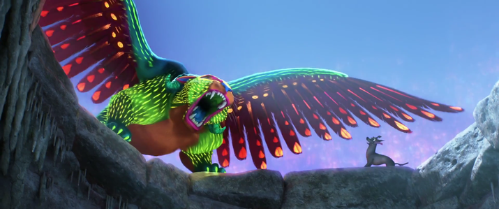 ¿Se volvería un poderoso tigre/cabra/águila como Pepita o un perrito multicolor como Dante?