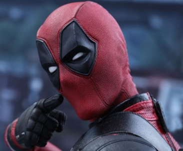 You probably already know this, but Ryan Reynolds plays the hilarious and savage superhero Deadpool.