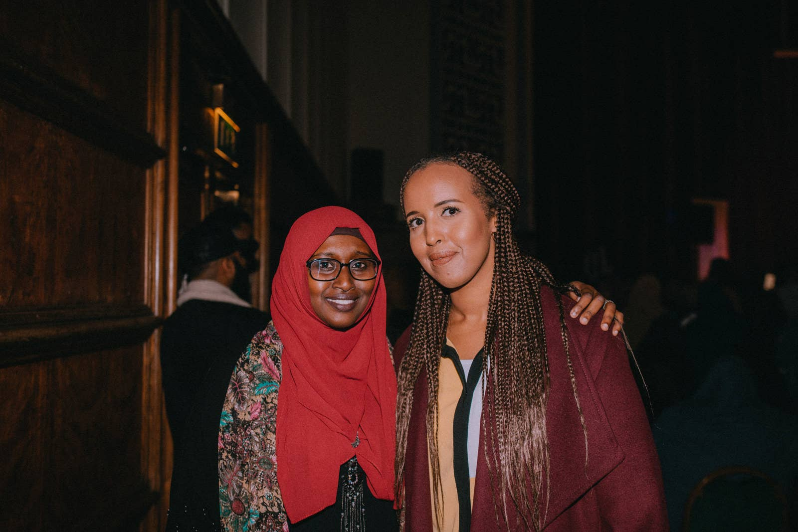 Somali Week Festival project managers Aisha Afrah (left) and Hanna Ali.