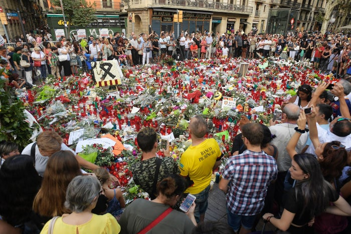 No ISIS connection has been found to the vehicle attack that killed 13 on Las Ramblas in Barcelona Aug. 20.