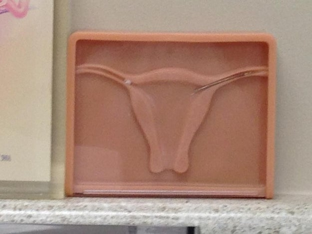 "This husband who saw THIS, then asked his wife's gyno if they were a ""Texas Longhorn"":"