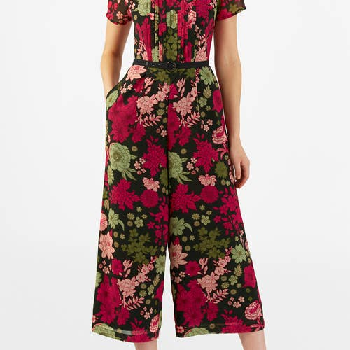 22dc3d73c4b ... print belted georgette jumpsuit (currently  60.95 +  9.95 for custom  sizing and custom cap sleeves). It s very cute and looks like it fits  impeccably