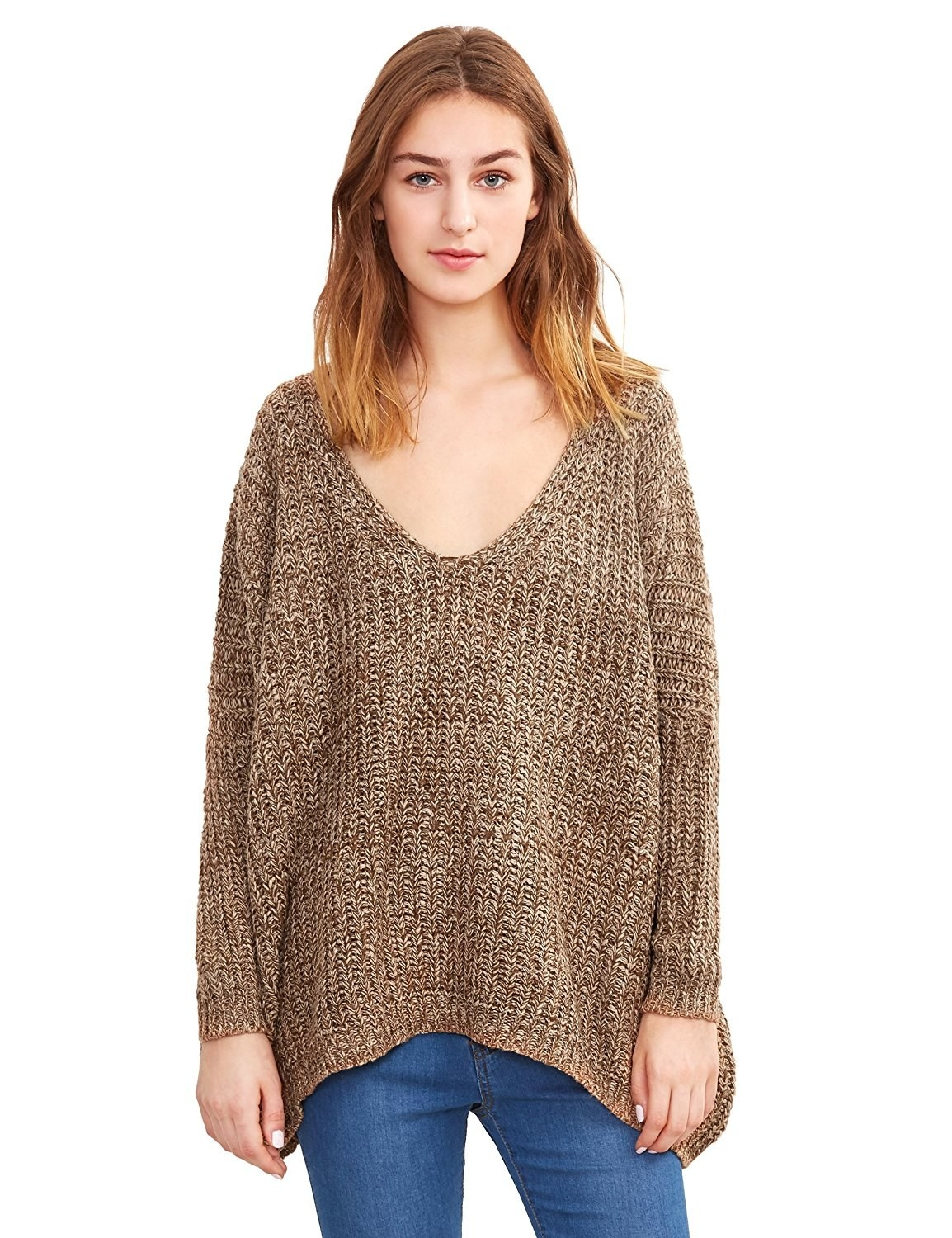 0d4496ee4e An oversized sweater you ll probably want to purchase in every color. Don t  worry