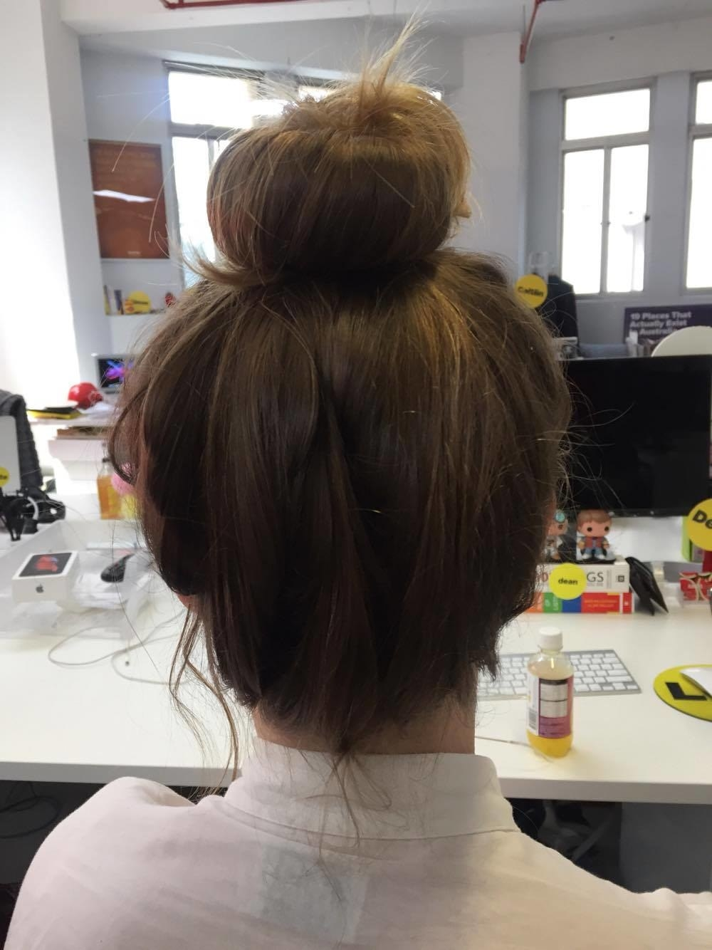 We Tried The Magic Bun Maker And Now We Re Never Leaving Our Hair Out Again