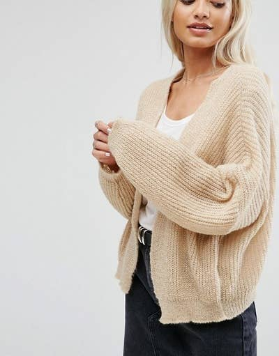 00383accb 29 Ridiculously Cozy Oversized Cardigans To Wear All Autumn