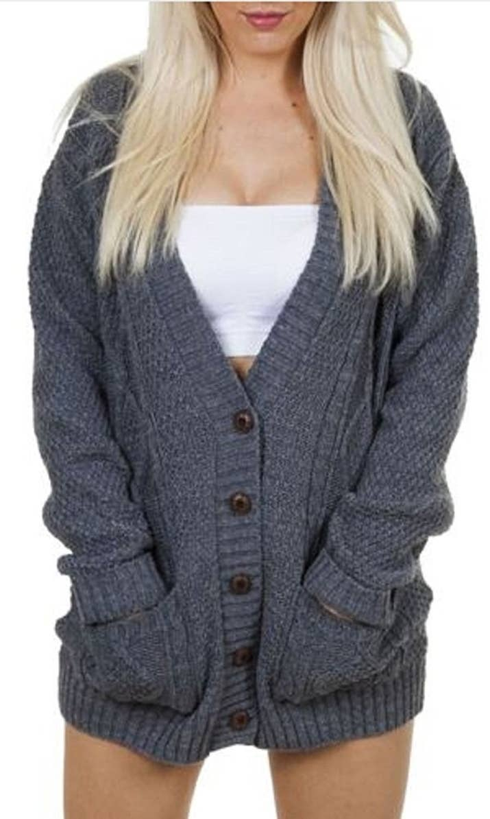 29 Ridiculously Cozy Oversized Cardigans To Wear All Autumn