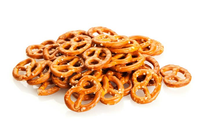 Pretzels (above) are not good.