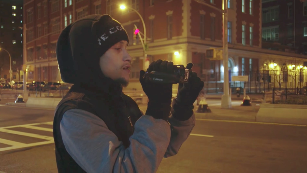 Ramsey Orta in Copwatch.