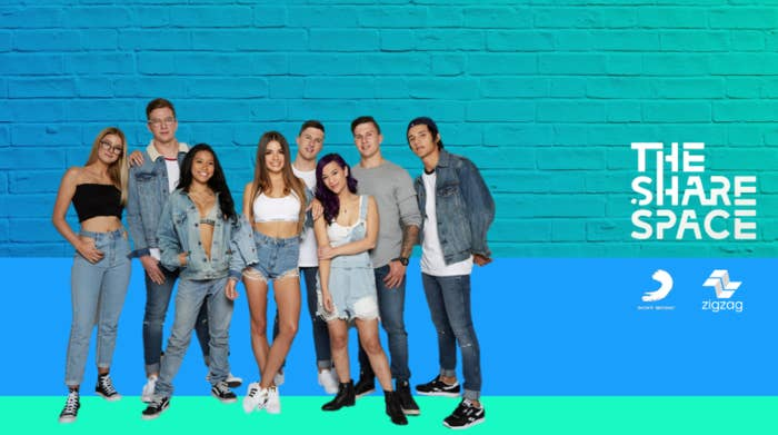 A musical competition, the show has brought together a bunch of young Aussies to battle it out for a record contract. The difference? It'll be aired exclusively on YouTube in daily episodes, with the music created in The ShareSpace available to stream and download after the episode airs.